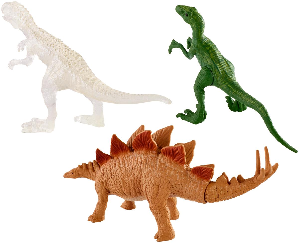 Jurassic World Фигурка Мини-динозавры 3 шт mattel фигурка динозавра jurassic world мини динозавры