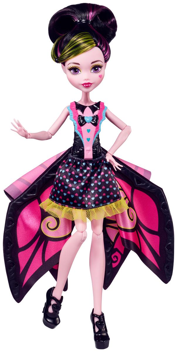 Monster High Кукла Monster High Трансформирующиеся монстрики monster high кукла дракулаура цвет платья розовый черный