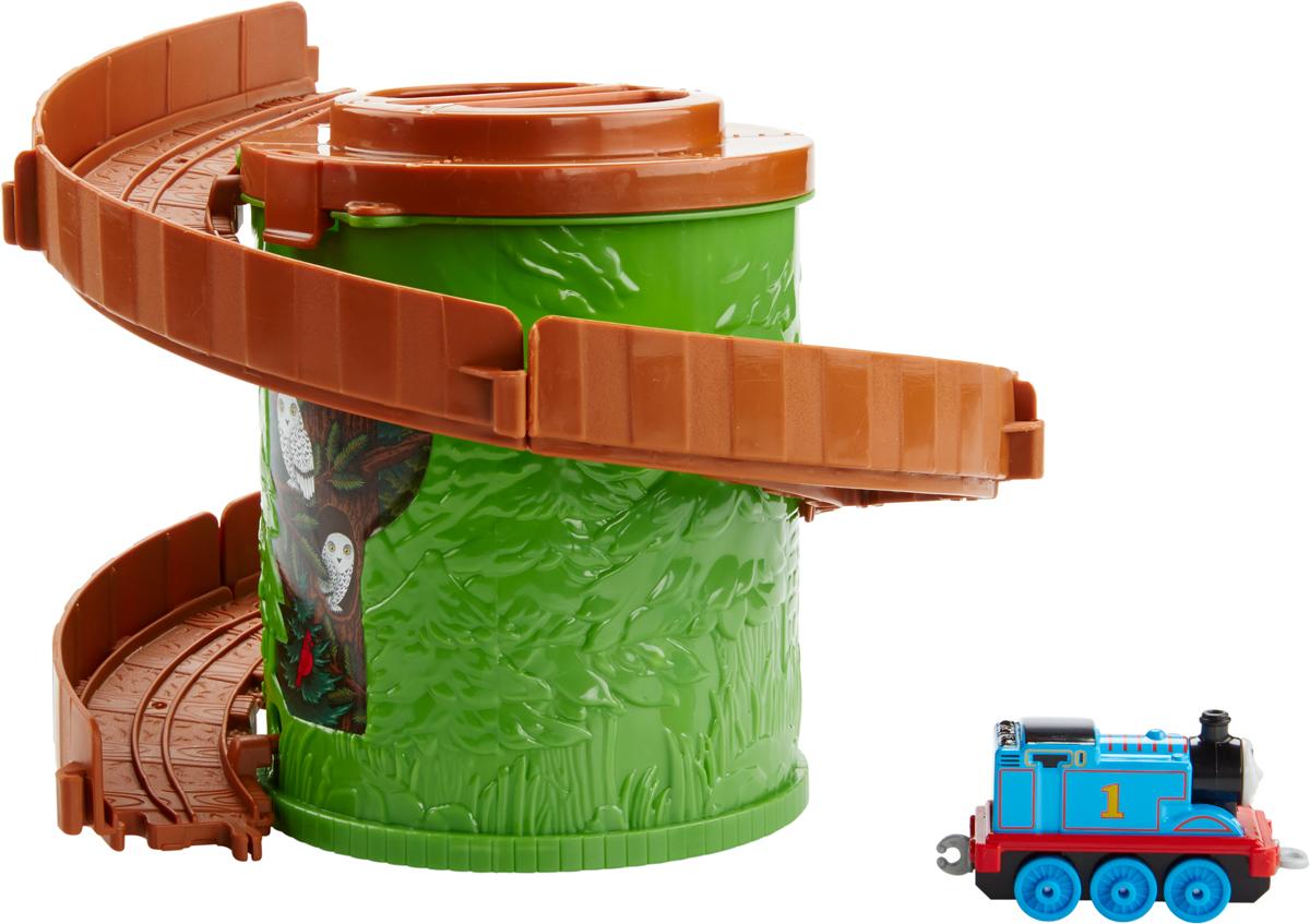 Thomas& FriendsЖелезная дорога Томас и его друзья Башня-спираль с трассой цвет зеленый коричневый