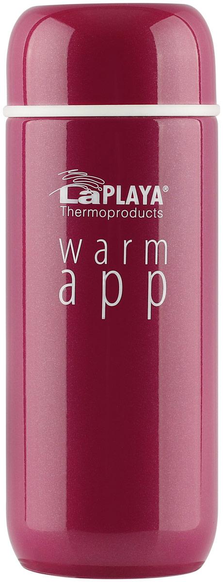 Термос LaPlaya Warm App, цвет: розовый, 0,2 л laplaya набор термосов laplaya warm app 560033 0 2 л 2fr9d s7