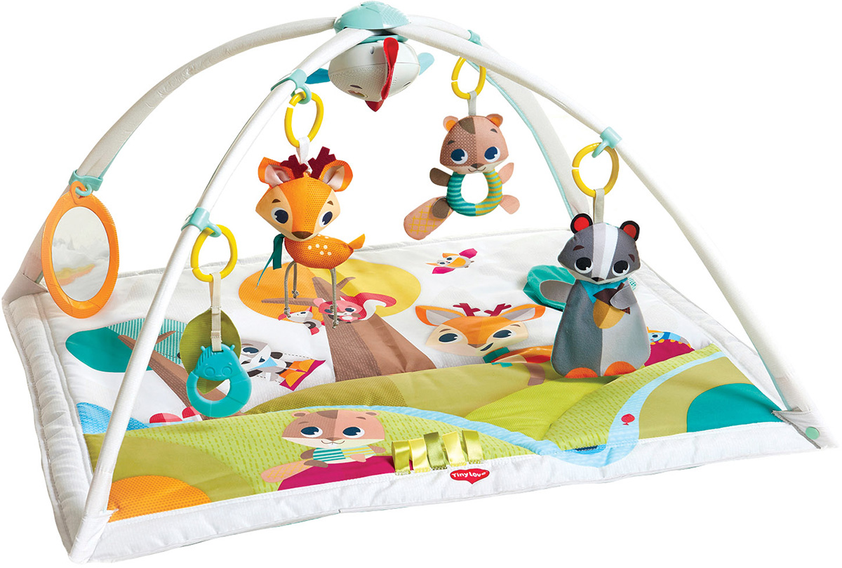 Tiny Love Развивающий коврик Сказочный лес развивающий коврик biba toys happy garden 100 100 см gd053