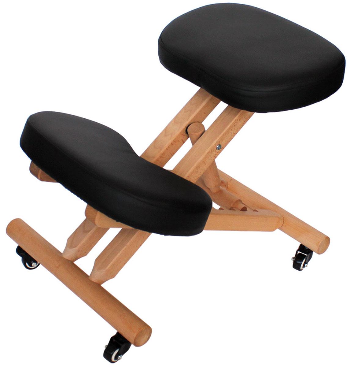 Gess Ортопедический стул для правильной осанки Vertebra ProGESS-810Ортопедический стул Vertebra Pro подойдет для людей самой различной комплекции и роста благодаря регулируемой длине. Он подходит также и детям. Прочный каркас из бука выдерживает нагрузку до 100 кг. Когда Вы сидите на стуле Vertebra Pro, нагрузка на позвоночник равномерно распределяется и излишнее напряжение мышц уходит. Мягкие подушки стула обеспечивают максимальный комфорт при сидении. Конструкция стула широко используется как профилактическое и ортопедическое средство, оказывая благотворный эффект в следующих случаях:— Сколиоз.— Дисфункциональные изменения позвоночного столба в поясничной области.— Регулярная статическая нагрузка на позвоночник.Среди противопоказаний к использованию устройства можно отметить врожденные и приобретенные аномалии костей таза и позвоночного столба, а также крайнюю степень сколиоза.