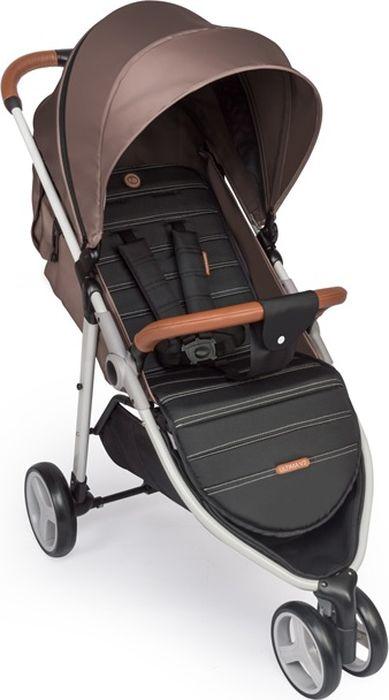 Happy Baby Коляска прогулочная Ultima V2 цвет коричневый