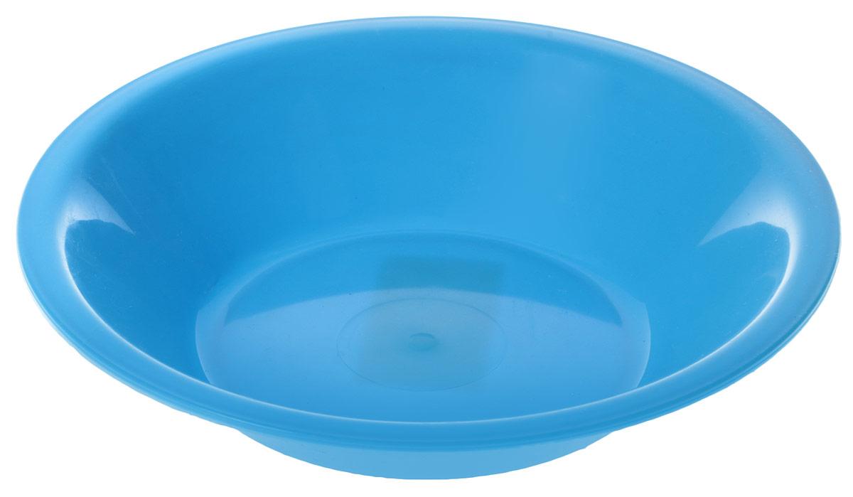 "Тарелка глубокая ""Gotoff"", цвет: голубой, диаметр 18,5 см"