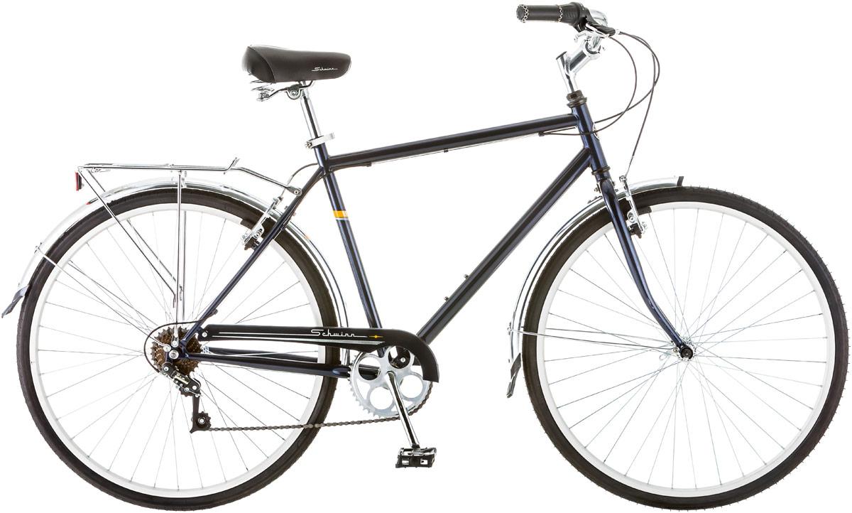Велосипед городской Schwinn Wayfarer, колесо 28, рама 18, цвет: синий