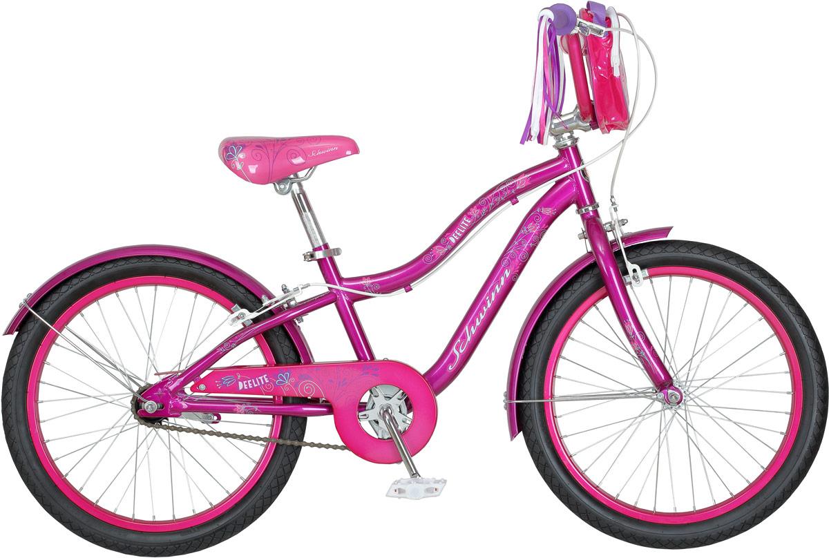 Велосипед детский Schwinn Deelite, колесо 20, цвет: фиолетовый