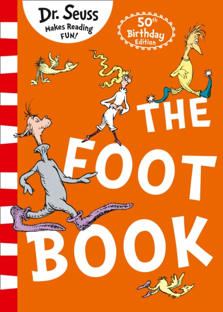 The Foot Book dr seuss bilingual classical books a set of 8 volumes for children improvement edition english and simplifiedchinese hardcover