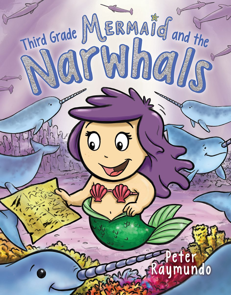 Third Grade Mermaid and the Narwhals robots and the whole technology story
