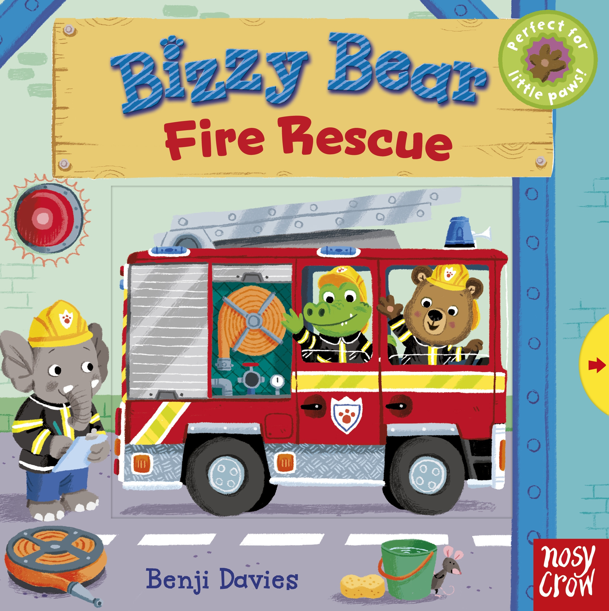 Bizzy Bear: Fire Rescue ghost at the fire station 6
