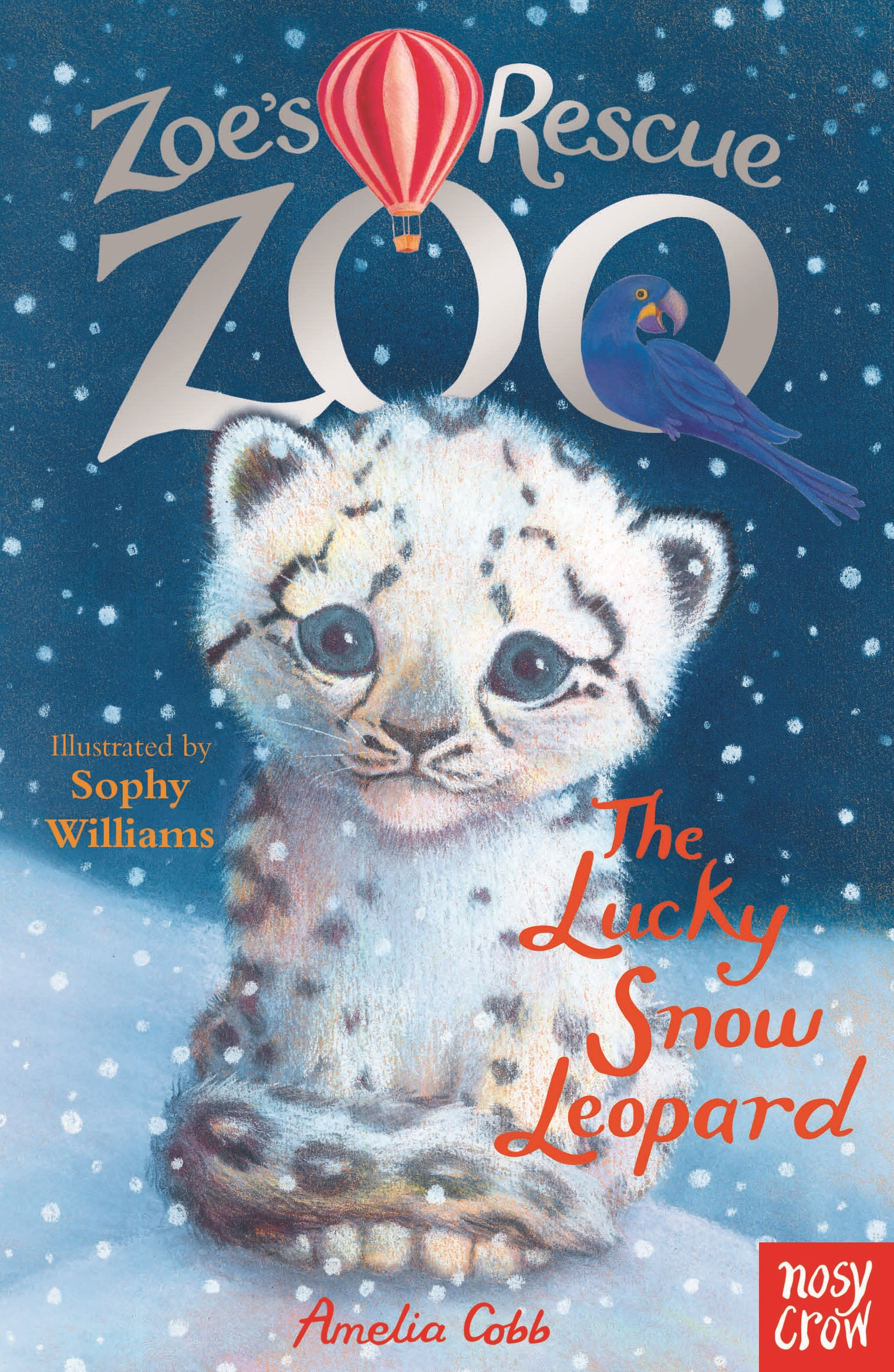 Zoe's Rescue Zoo: The Lucky Snow Leopard zoe s rescue zoo the happy hippo