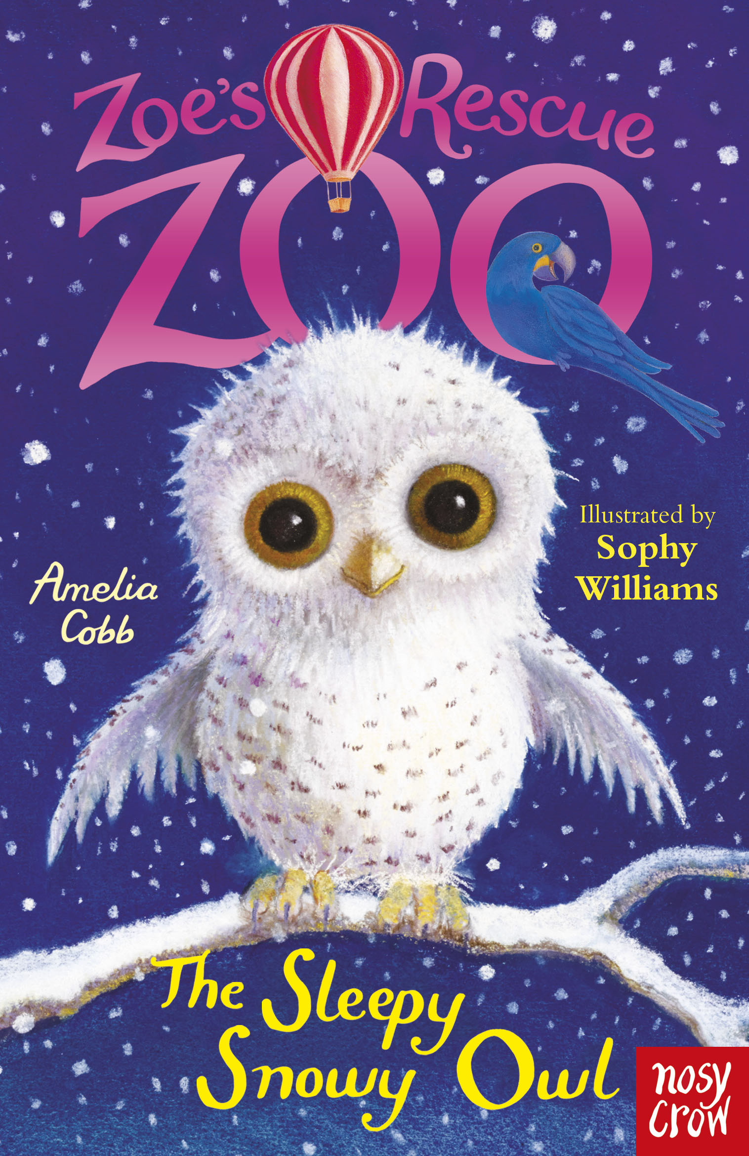 Zoe's Rescue Zoo: The Sleepy Snowy Owl can you keep a secret