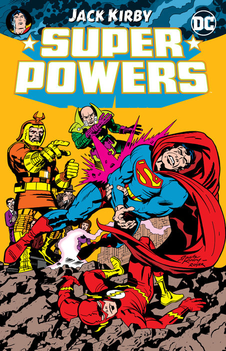 Super Powers by Jack Kirby спот artelamp a5213ap 1wg