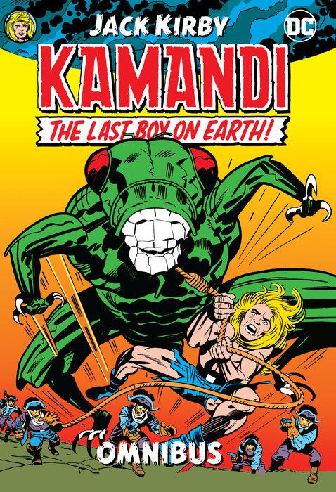 Kamandi by Jack Kirby Omnibus magformers магнитный конструктор creative 90