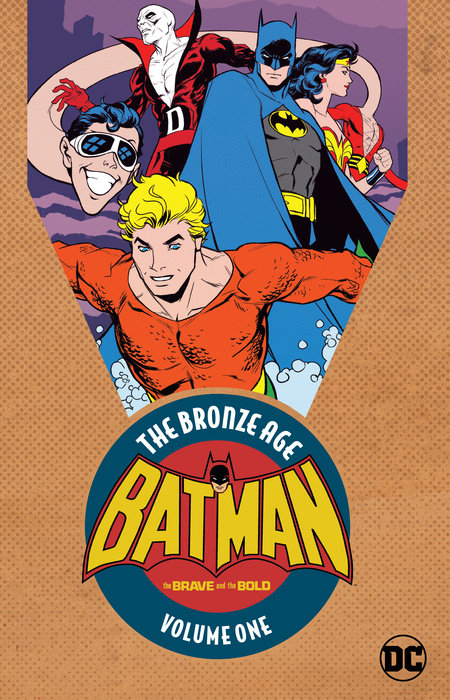 Batman in The Brave & the Bold: The Bronze Age Vol. 1 batman the golden age vol 4