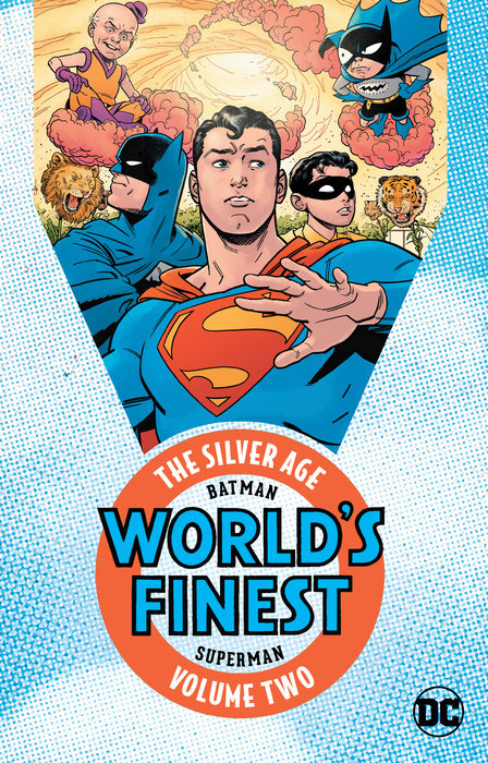 Batman & Superman in World's Finest: The Silver Age Vol. 2 the batman adventures volume 2