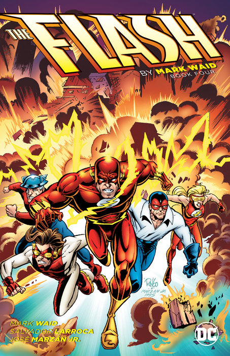 The Flash by Mark Waid Book Four stadium chairs