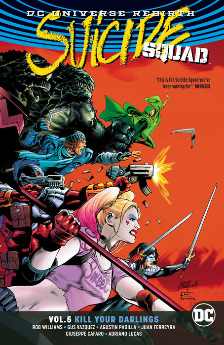 Suicide Squad Vol. 5: Kill Your Darlings endgame