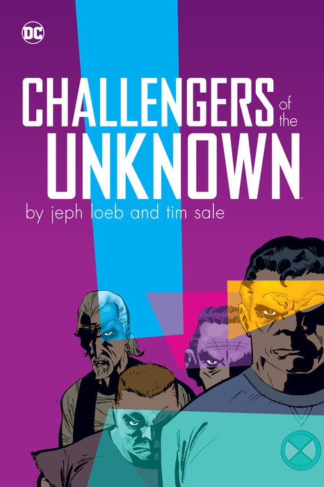 Challengers of the Unknown by Jeph Loeb & Tim Sale redmond ri c244 yellow утюг
