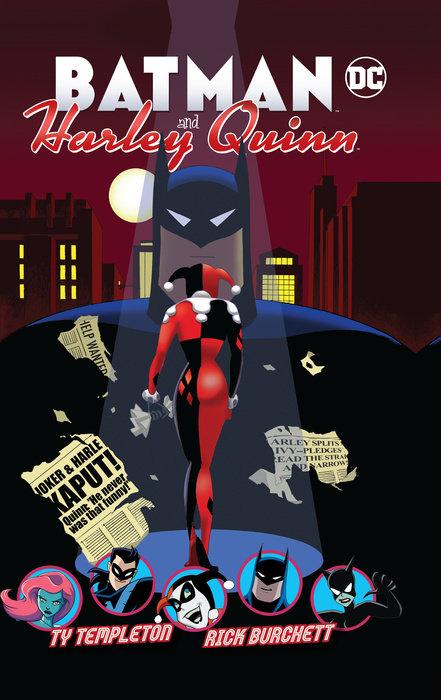 Batman and Harley Quinn batman volume 2 joker s asylum