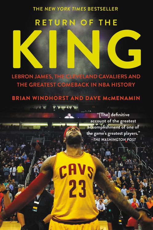 Return of the King: LeBron James, the Cleveland Cavaliers and the Greatest Comeback in NBA History худи print bar cleveland cavaliers