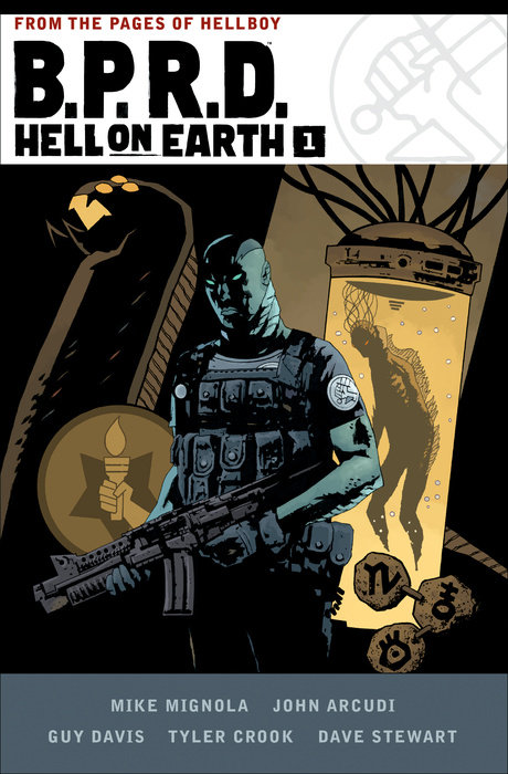 B.P.R.D. Hell on Earth Volume 1 b p r d hell on earth volume 6 the return of the master