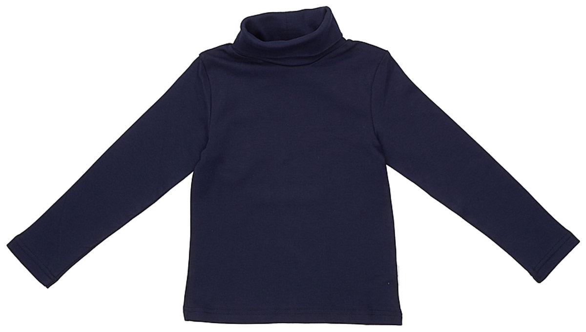 Водолазка для мальчика Frutto Rosso, цвет: темно-синий. FRB72115. Размер 122