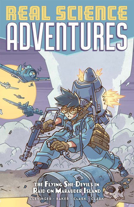 Atomic Robo Presents Real Science Adventures: The Flying She-Devils in Raid on Marauder Island 30pcs in one postcard take a walk on the go dubai arab emirates christmas postcards greeting birthday message cards 10 2x14 2cm