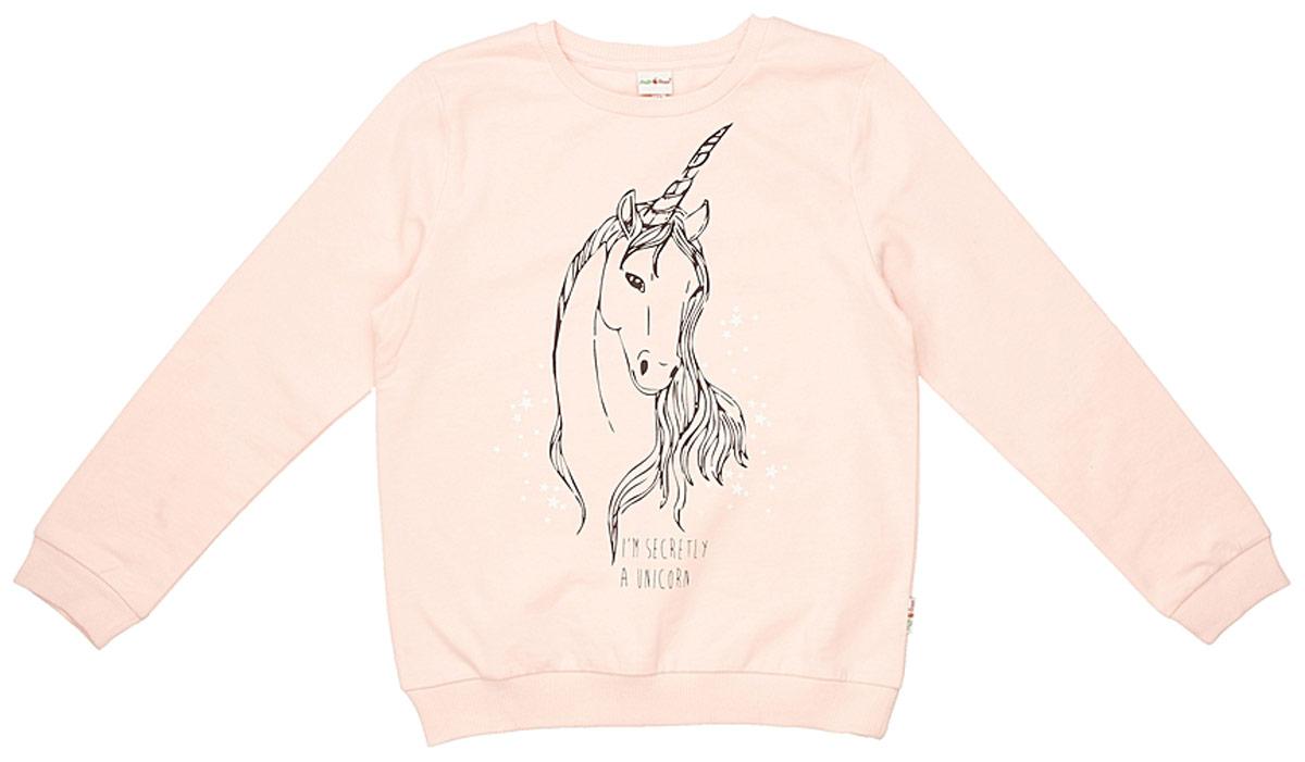 Джемпер для девочки Frutto Rosso, цвет: темно-розовый. FRG72150. Размер 152 джемперы свитера пуловеры frutto rosso джемпер для мальчика