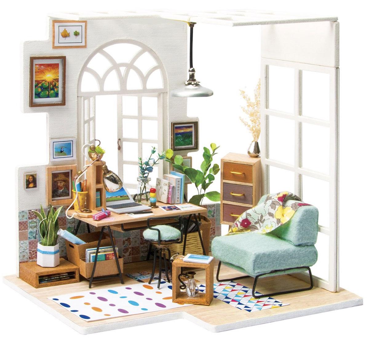 Набор для изготовления игрушки Цветной Домашний кабинет