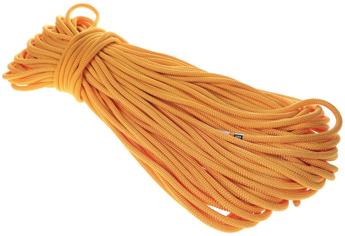 Веревка динамическая Vento Guru, с водоотталкивающей пропиткой, цвет: оранжевый, диаметр 8,3 мм, длина 50 м