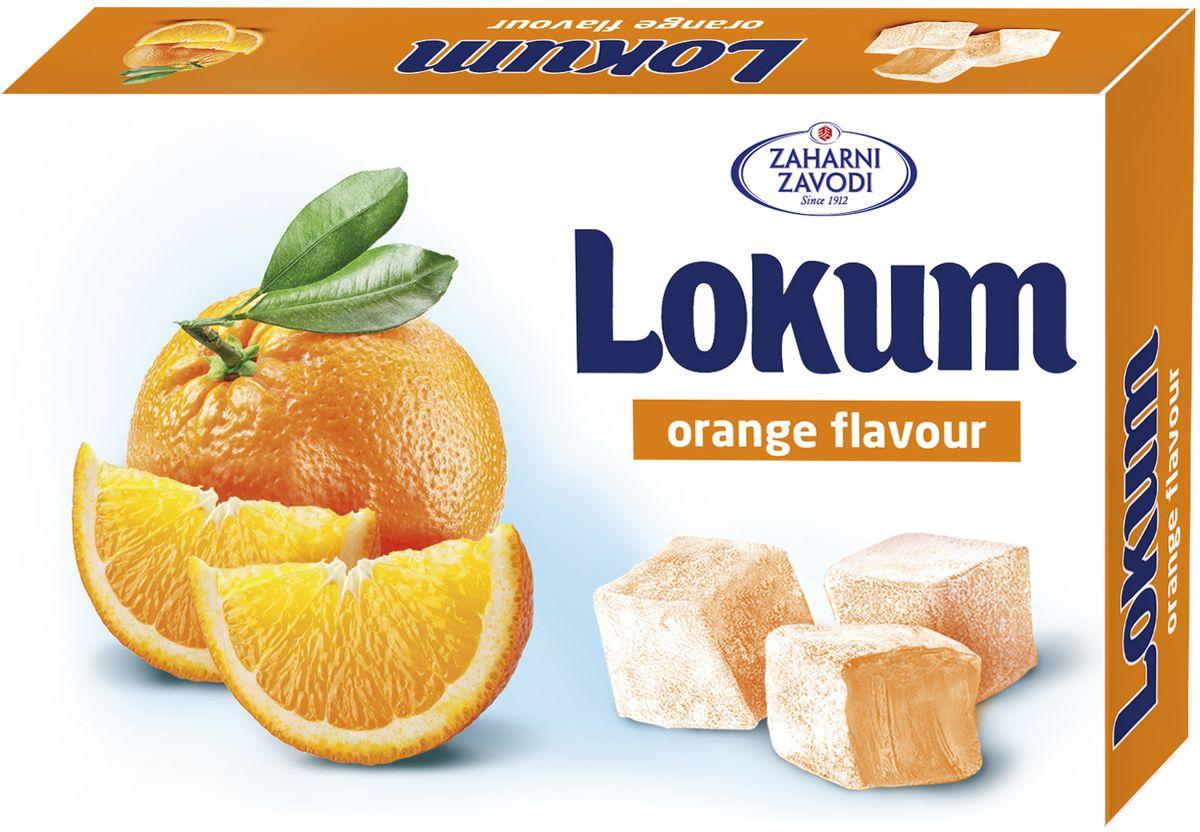 Zaharni Лукум со вкусом апельсина, 140 г zaharni лукум со вкусом клубники 140 г