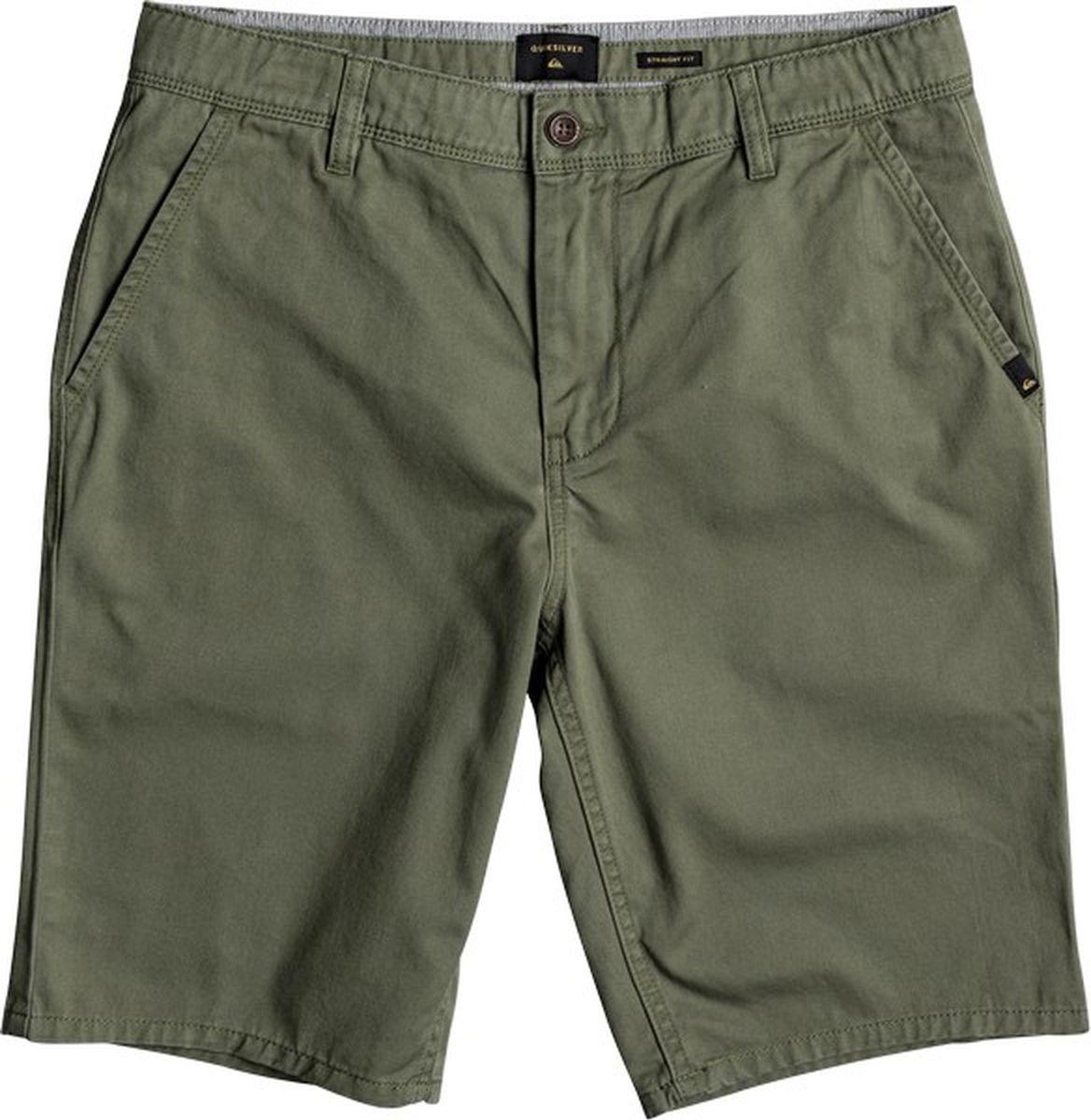 Шорты мужские Quiksilver, цвет: зеленый. EQYWS03468-GPH0. Размер 38 (54)