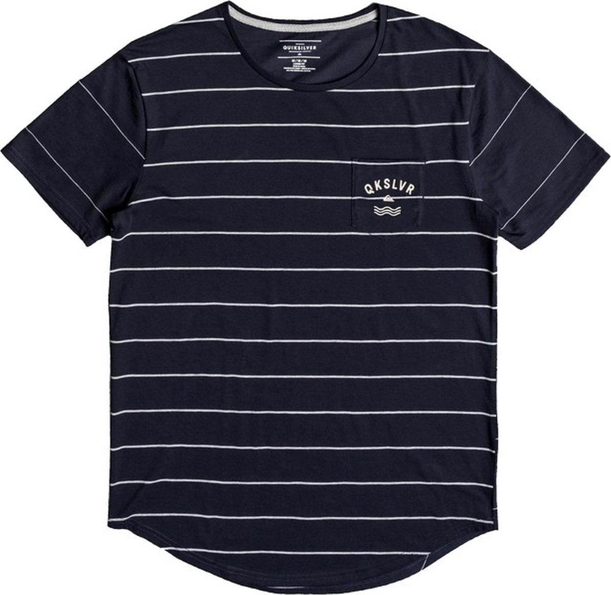 Футболка мужская Quiksilver, цвет: синий. EQYKT03682-BYJ3. Размер XXL (54) футболка мужская anta цвет синий 85835146 2 размер xxl 54