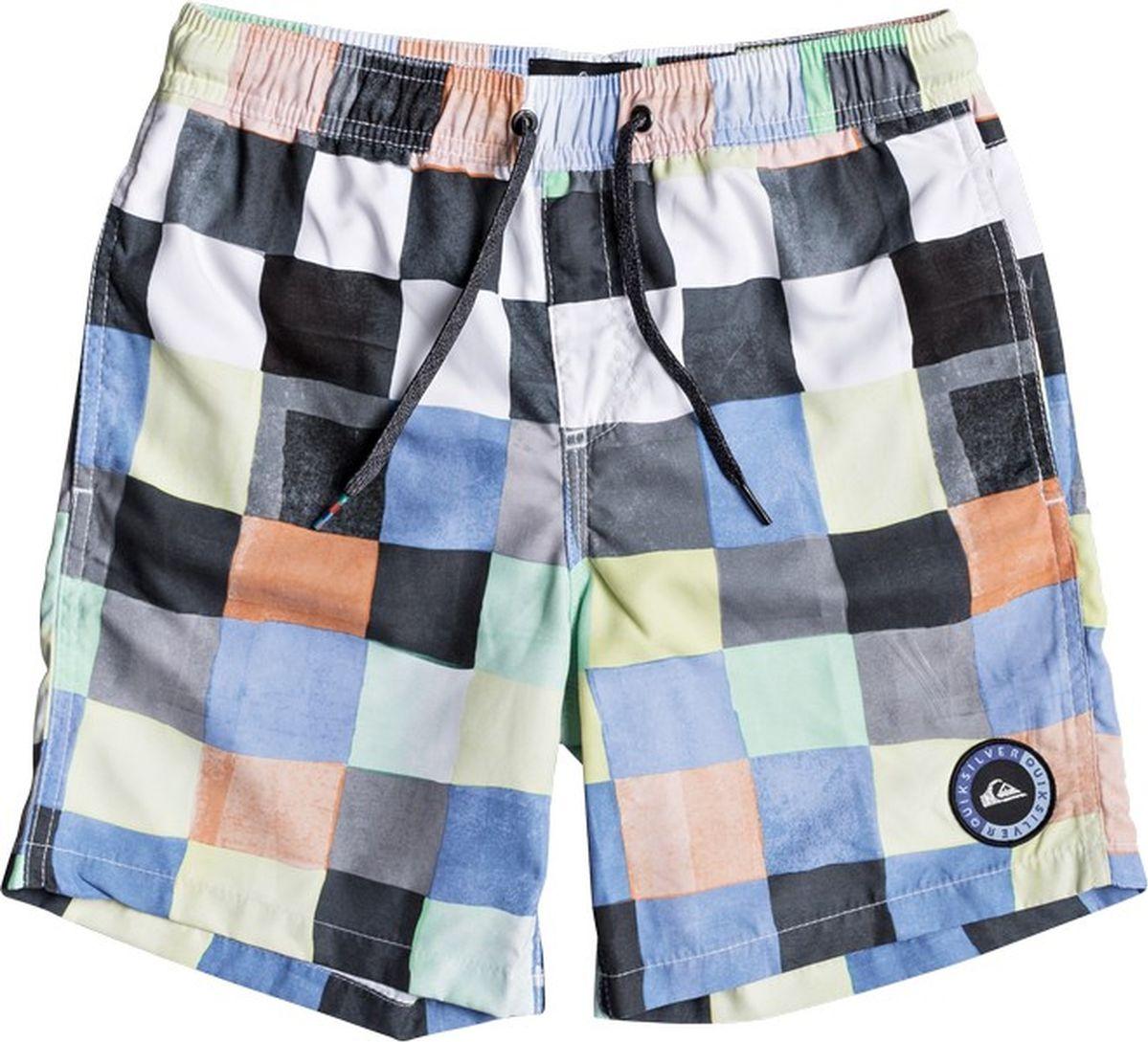 Шорты для мальчика Quiksilver, цвет: мультиколор. EQBJV03139-WBB6. Размер 134/140