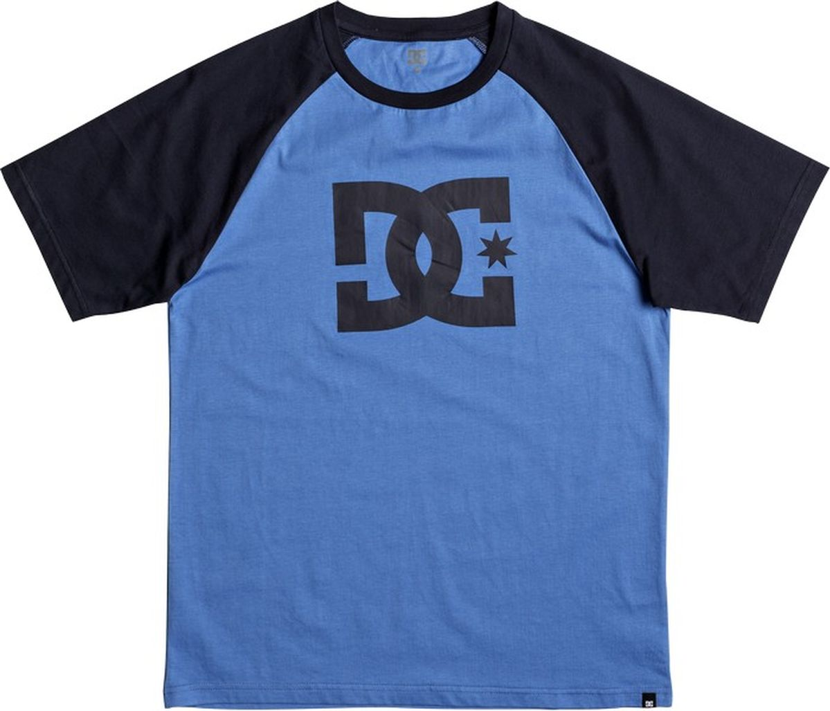 Футболка мужская DC Shoes, цвет: синий. EDYZT03802-XBBB. Размер S (46) dc shoes кеды dc shoes evan smith hi navy gold 9