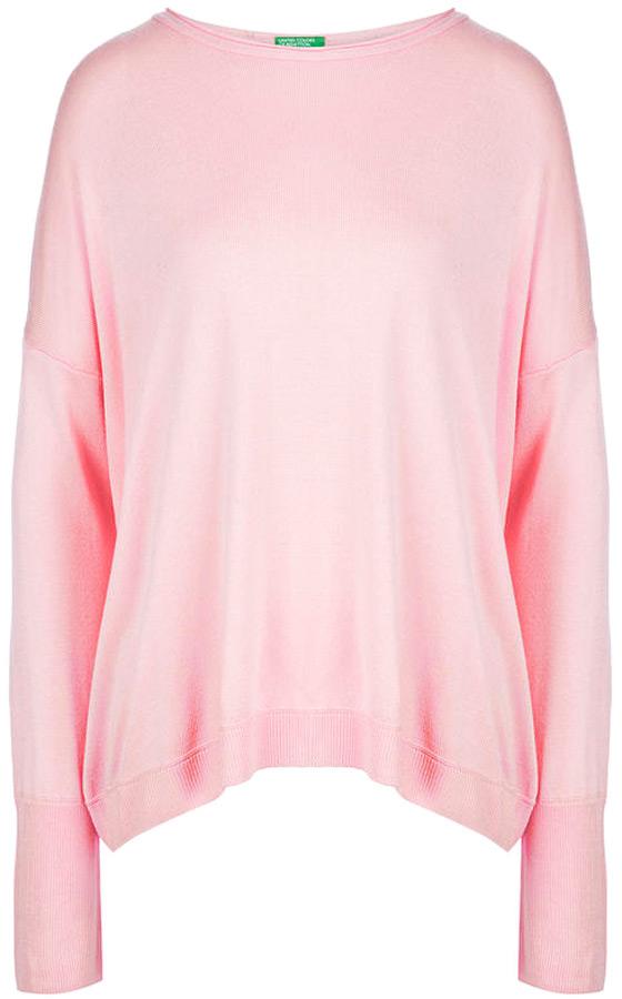 Купить Джемпер женский United Colors of Benetton, цвет: розовый. 102LD1F23_1H0. Размер XS (40/42)