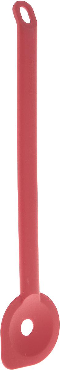 Ложка Tescoma Space Tone, с углом, цвет: красный, длина 31 см ложка дуршлаг tescoma space tone цвет красный длина 33 см
