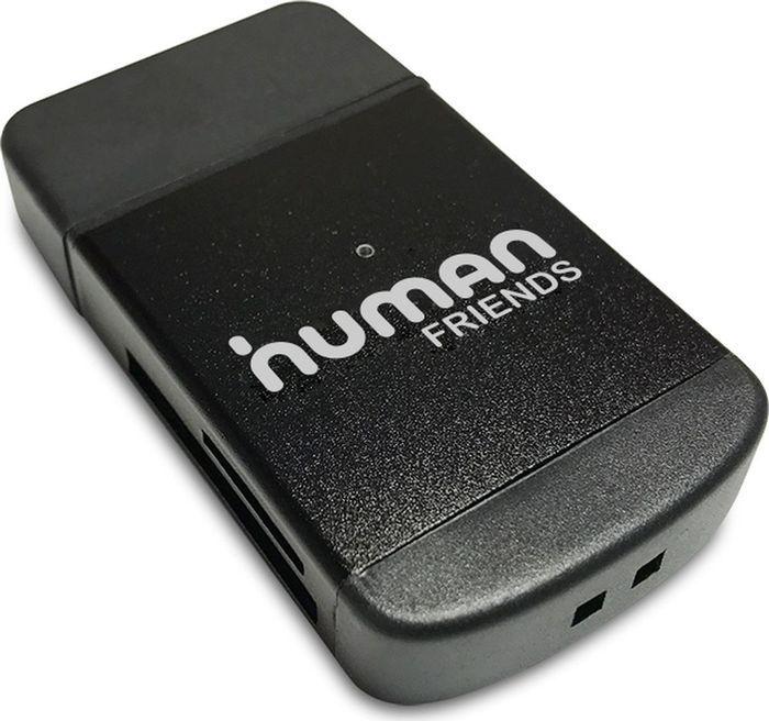 Human Friends Speed Rate Multi, Black картридер