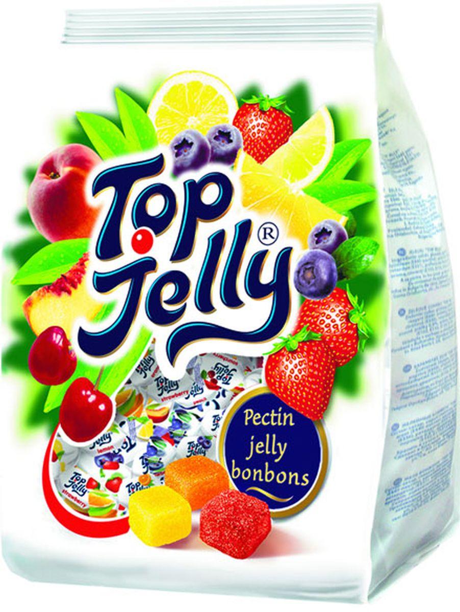 Zaharni Zavodi Top Jelly мармелад ассорти с фруктовым вкусом, 400 г jelly belly ассорти мороженое драже жевательное 100 г