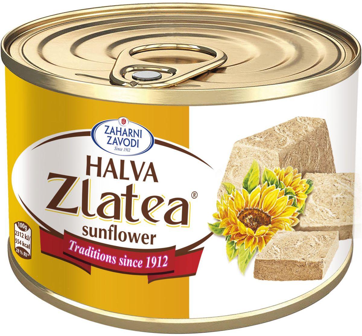 Zaharni Zavodi Zlatea Подсолнечная халва, 420 г zaharni zavodi zlatea подсолнечная халва 420 г