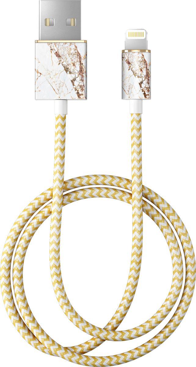 iDeal IDFCL-46, White кабель USB - Lightning (1 м) кабель