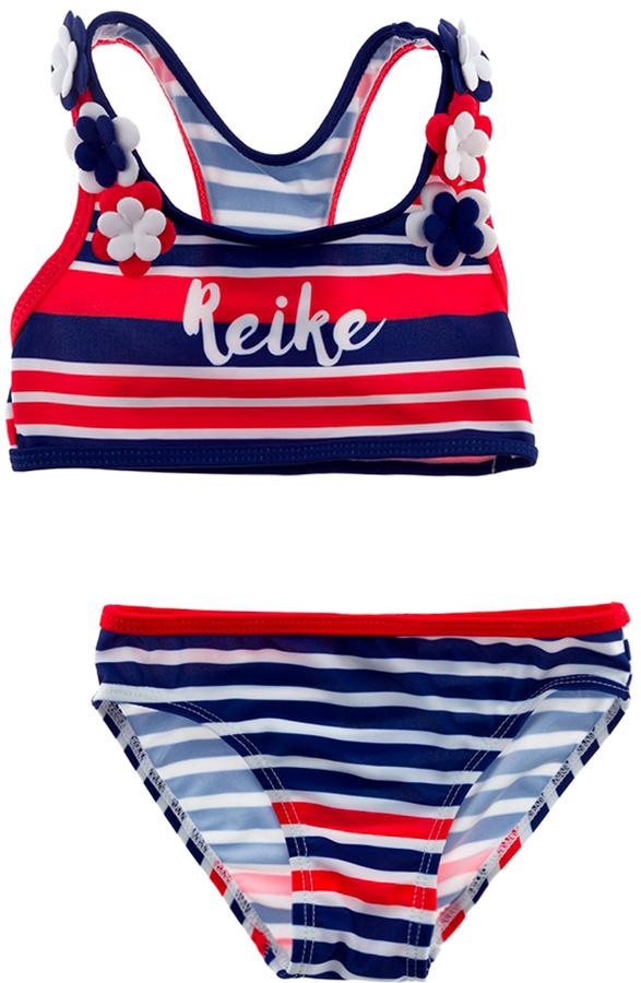 Купальник раздельный для девочки Reike, цвет: красный. RS18_NTC3 red. Размер 104, 4 года купальник раздельный для девочки reike цвет фиолетовый rs18 ros1 violet размер 152 12 лет