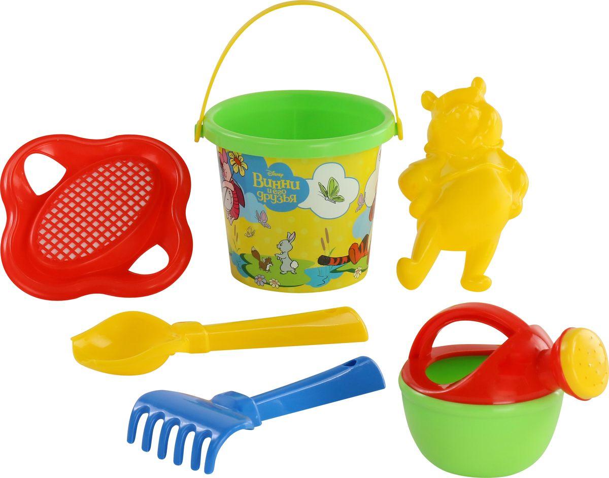Disney Набор игрушек для песочницы Винни и его друзья №4 ящики для игрушек disney короб для игрушек микки и его друзья