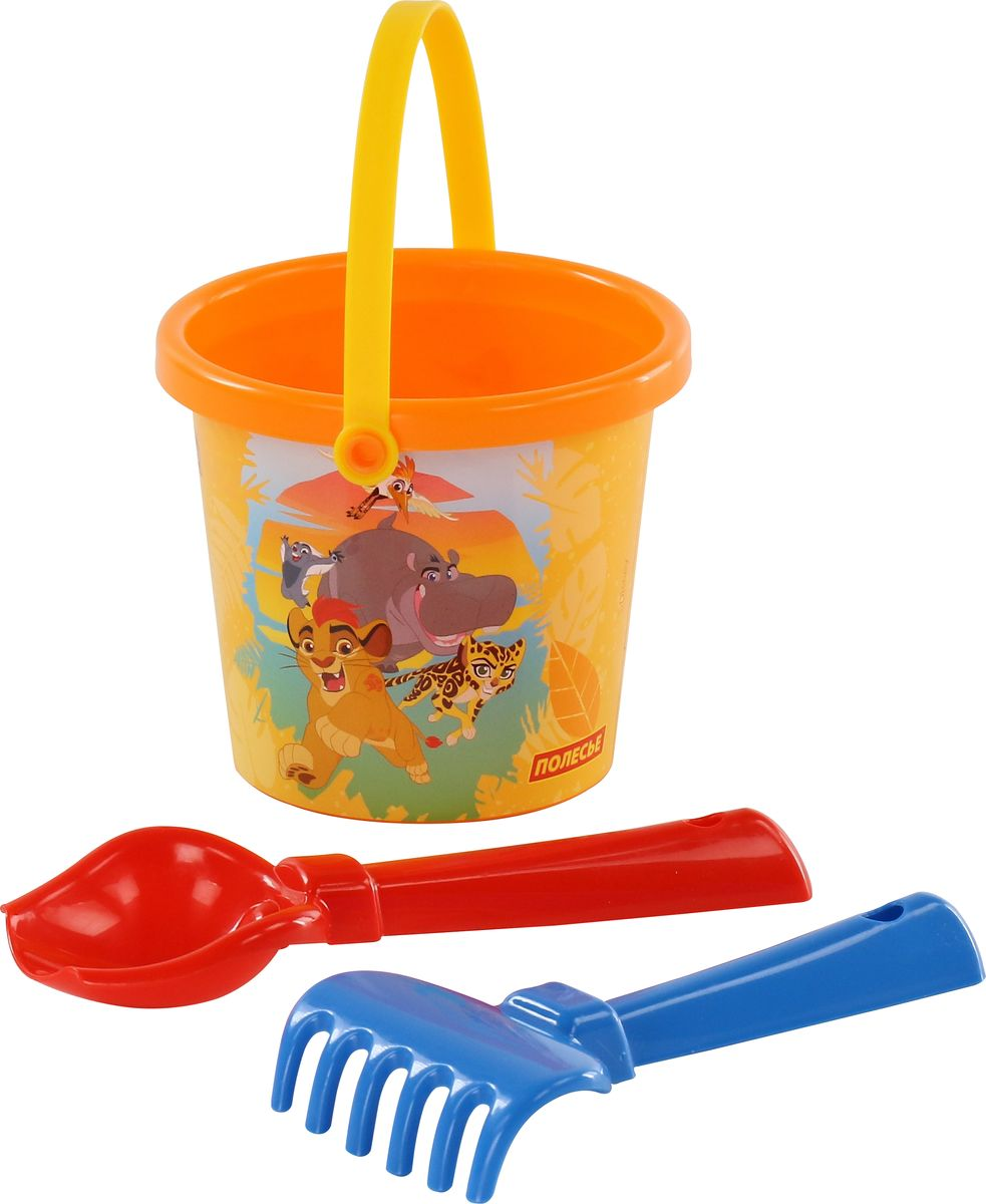 Disney Набор игрушек для песочницы Хранитель Лев №1 marvel набор игрушек для песочницы софия прекрасная 1