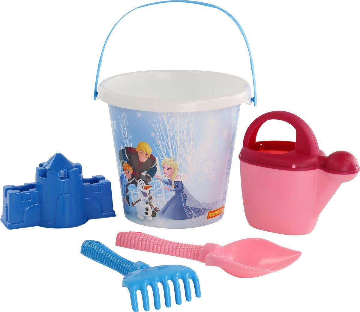 Disney Набор игрушек для песочницы Холодное сердце №13 5 предметов disney набор игрушек для песочницы принцесса 13 5 предметов