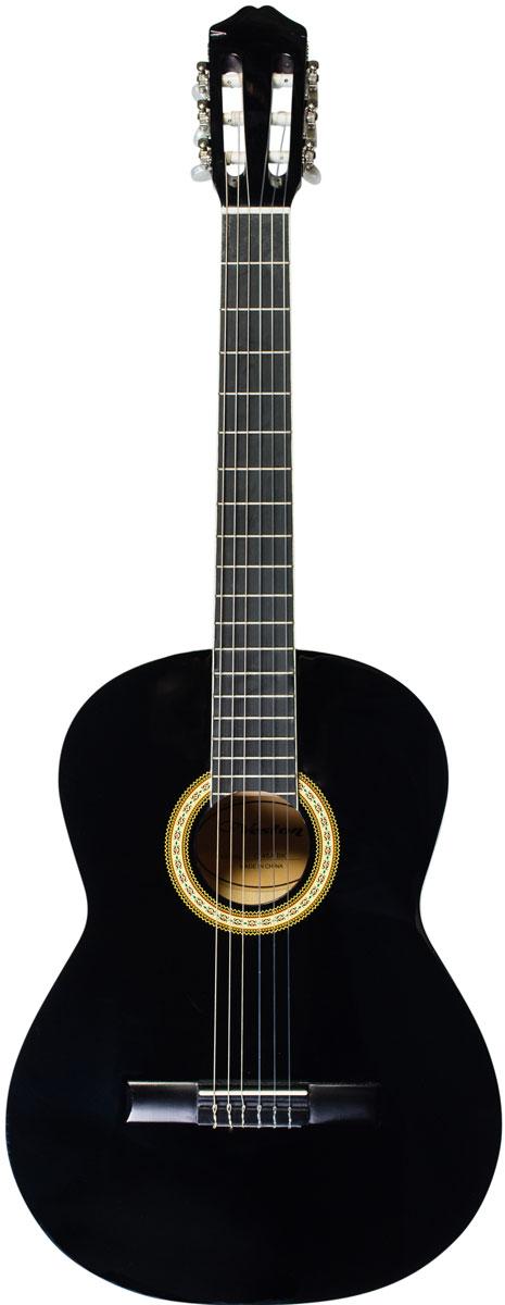 Veston C-45A BK акустическая гитара belucci bc3820 beige акустическая гитара