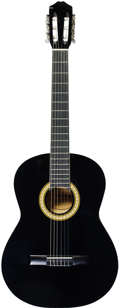 Veston C-45A BK акустическая гитара sxdool sxd8038b24h 80 80 38mm dc 24v brushless cooling fan 0 45a 6000rpm 83 5cfm 57dba for server inverter case