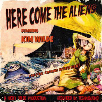 Ким Уайлд Kim Wilde. Here Come The Aliens draw 50 aliens