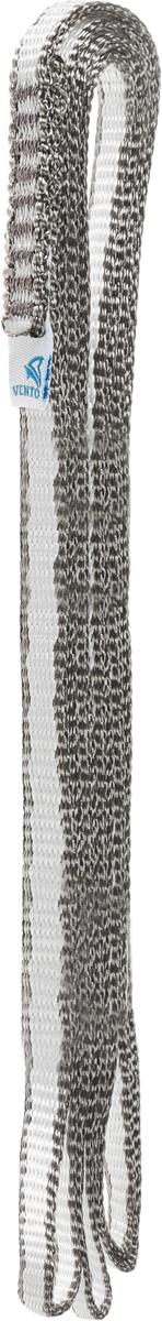 Петля станционная «ЛАЙТ» шириной 10 мм обладает наименьшим весом при сохранении высоких прочностных характеристик. Нити ленты выполнены из высокопрочного волокна Dyneema. Петля VENTO идеальна для использования в длительных экспедициях. Характеристики:Материал: DyneemaДлина: 100 смМасса: 32 гЦвет: серый