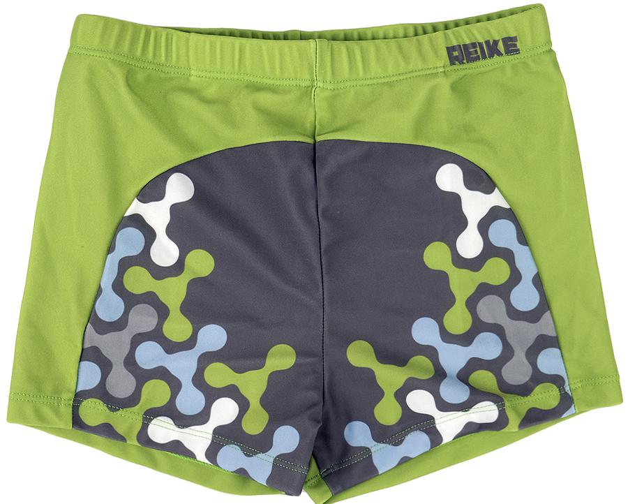 Купальные плавки для мальчика Reike, цвет: зеленый. RS18_SPN1 grey. Размер 152, 12 лет
